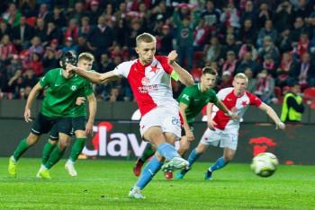Odezírali jsme z obrázků pořízených při ligovém zápasu fotbalistů  Slavie Praha - Příbram
