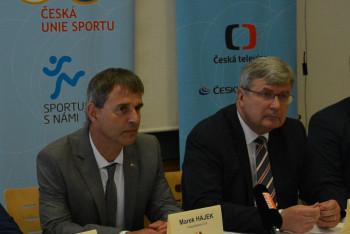Předseda ČUS obhajoval v Senátu naléhavost vzniku samostatné státní instituce pro sport