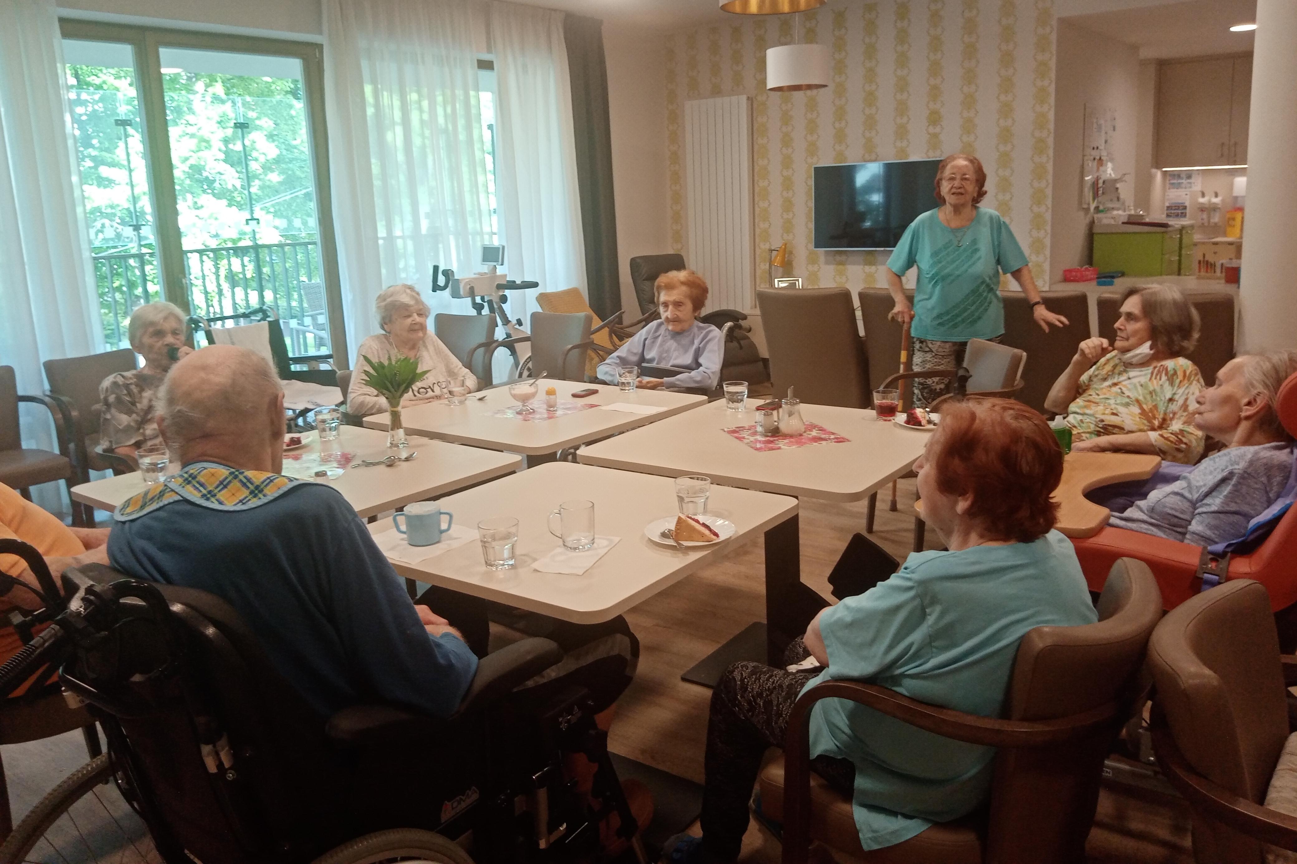 Klienti z kolínského SeniorCentra si užívají i v čase koronaviru